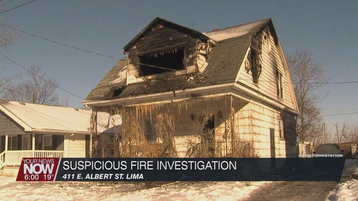 An investigation is underway into a suspicious fire on Lima's south side