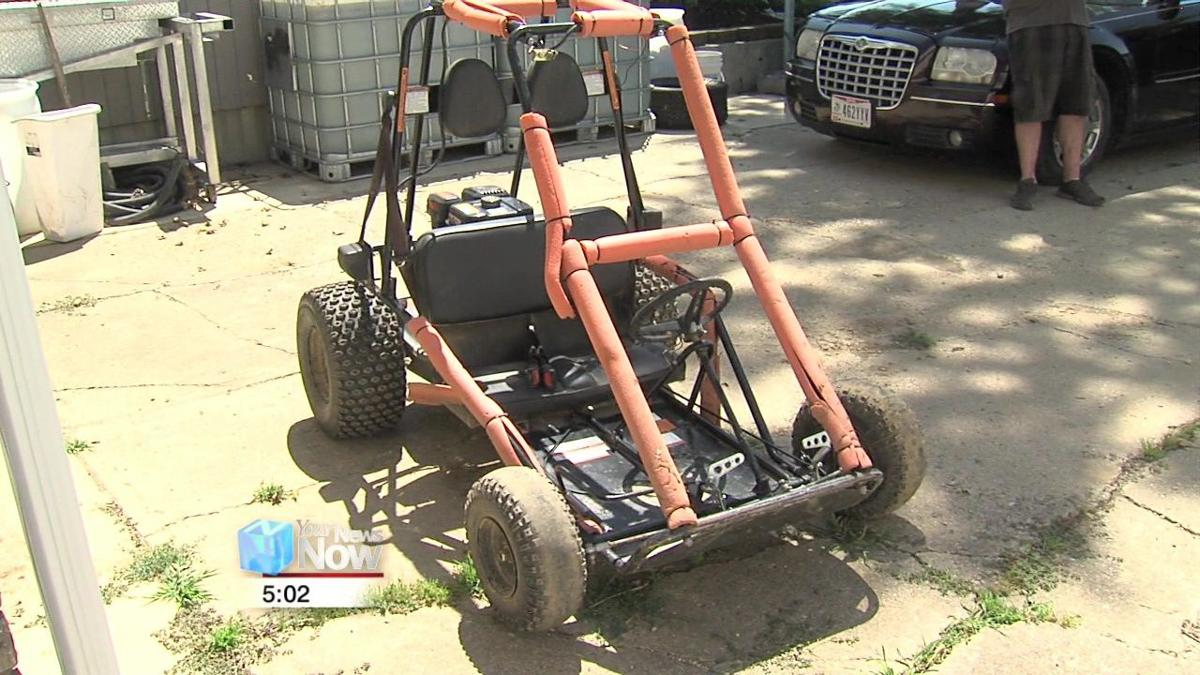 City and homeowner in struggle over use of homemade go-kart track 1.jpg