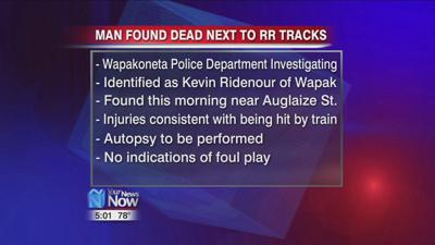 Wapakoneta police investigating a man found dead next to railroad tracks 1.jpg