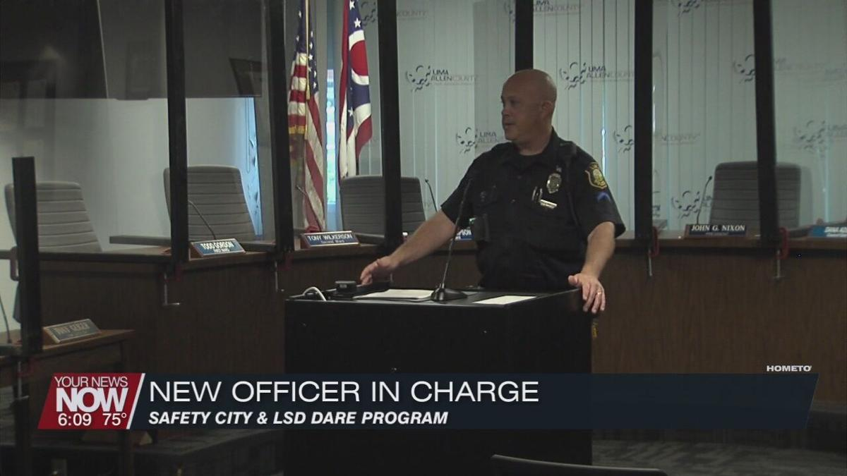 Lima Police Department appoints Mericle to oversee DARE and Safety City programs