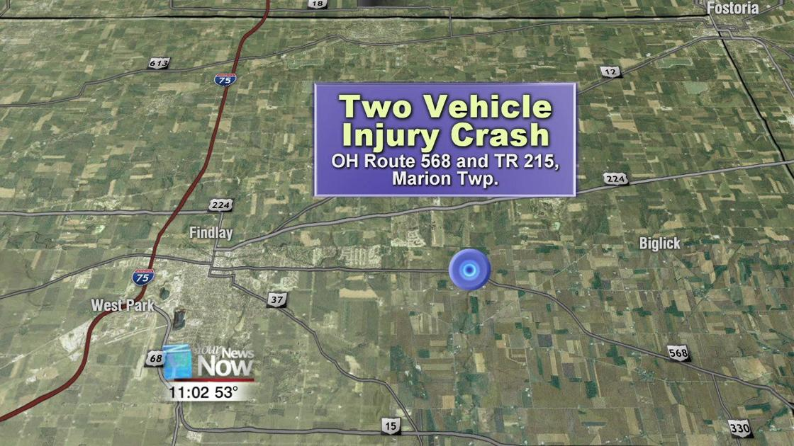 Two people sent to hospital after car crash in Hancock County | News