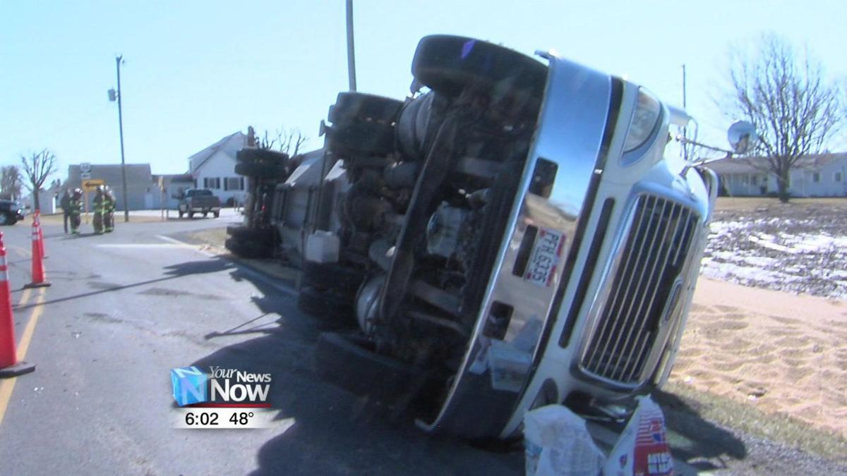 Semi-truck flips on State Route 661.jpg