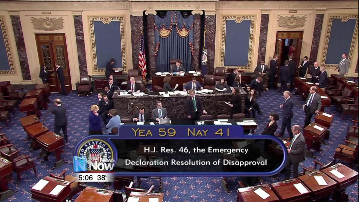 President Trump vetos Congress vote against border wall money 1.jpg