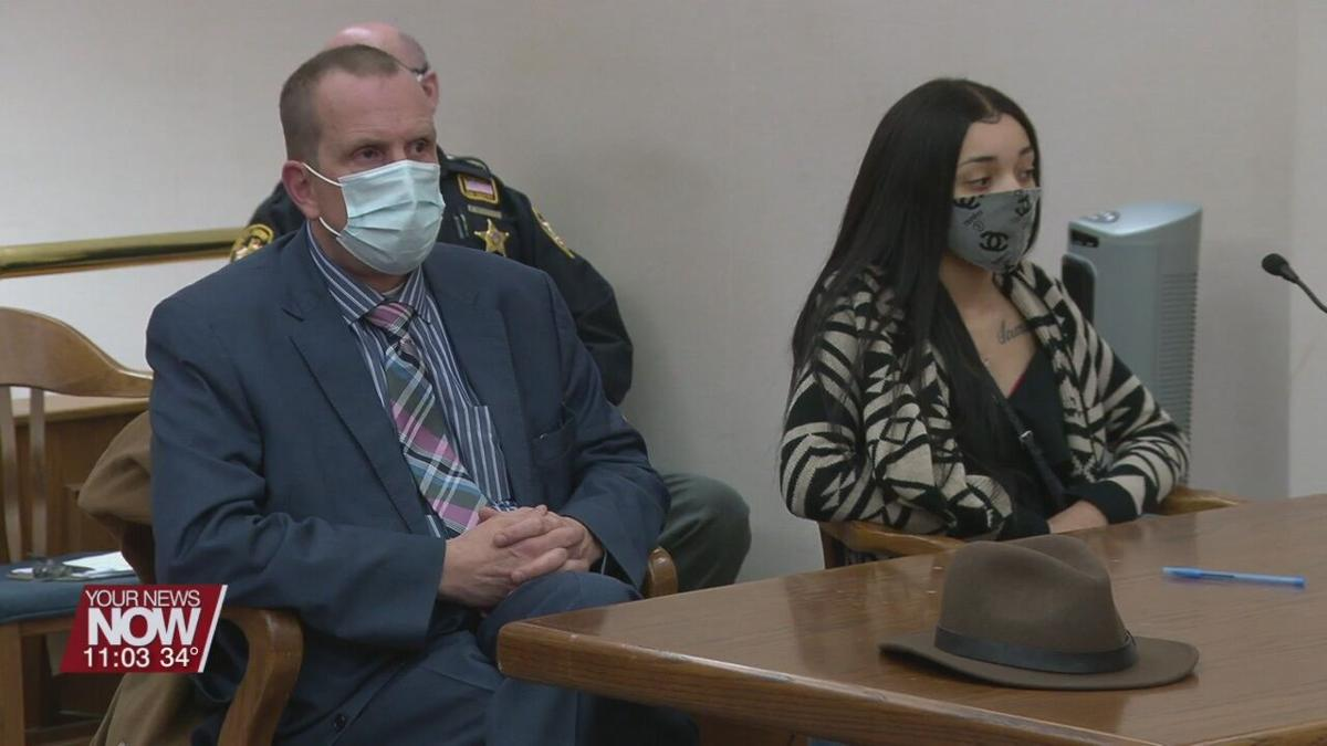 Denson and her attorney look to suppress statements made to police