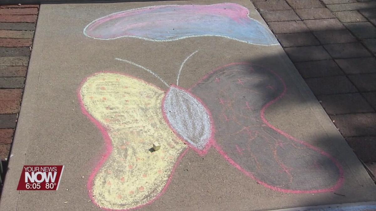 "The ""Chalk Walk"" brings art to downtown Lima sidewalks"