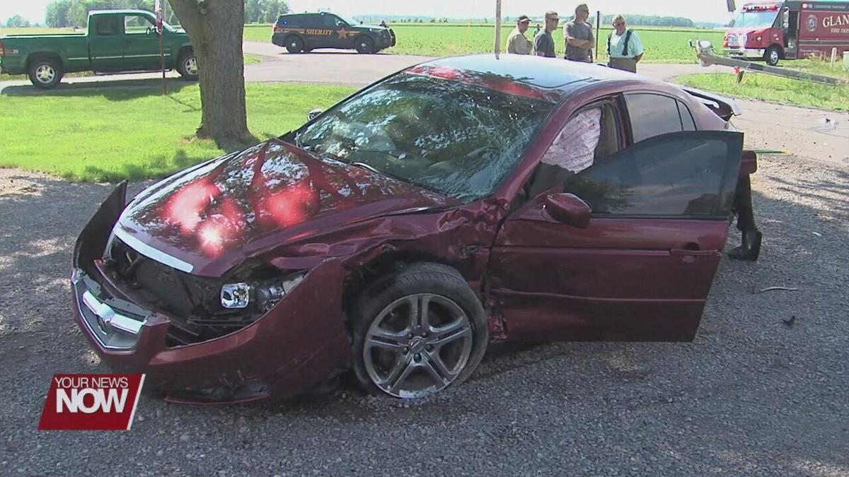 Minor injuries reported in Putnam County crash