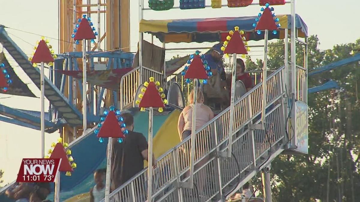 Groups of teenagers and young adults causing problems at the Allen Co. Fair