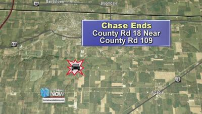 Suspect still being sought from early morning Findlay police chase