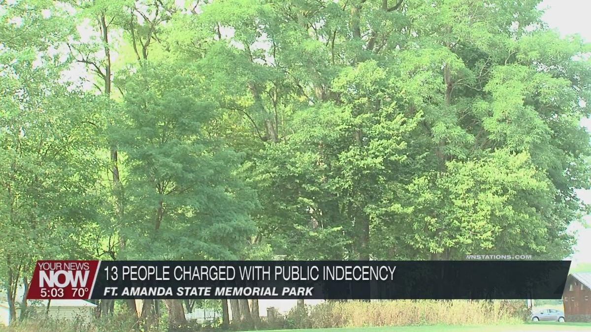 13 people arrested for public indecency at Ft. Amanda St. Park