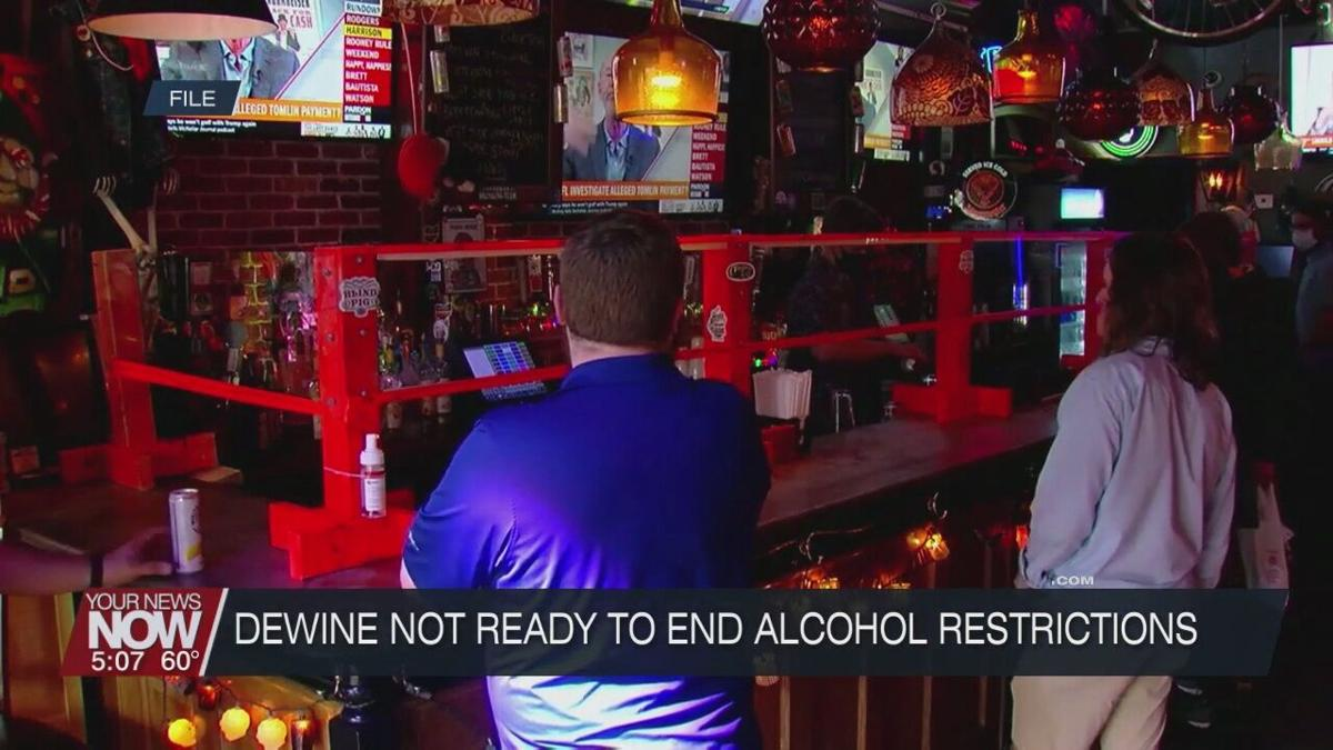 10 p.m. alcohol sales and bar and restaurant hours to remain for a while