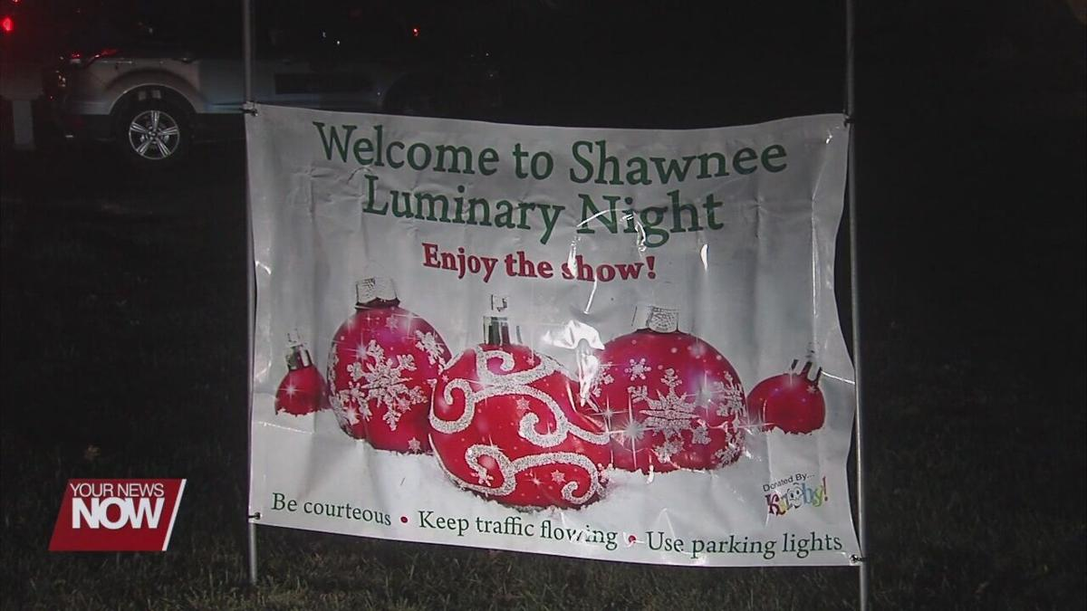 Shawnee Living lights up the night for charity