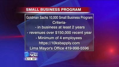 Small businesses encouraged to apply for Goldman Sachs program 1.jpg