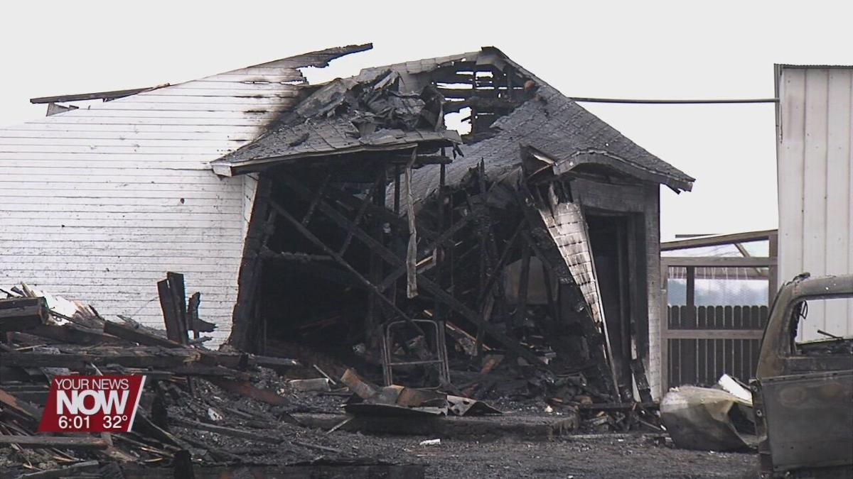 Monday morning fire damages Ft. Jennings home and injures homeowners