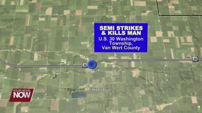 Delphos man killed by semi while working on vehicle on U.S. 30