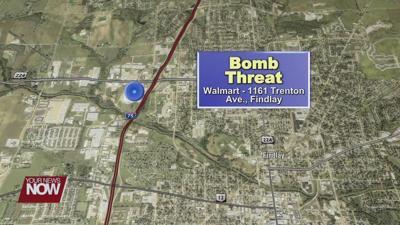 Findlay Walmart evacuated after bomb threat