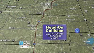 Drivers life flighted after head-on collision on U.S. 33 1.jpg