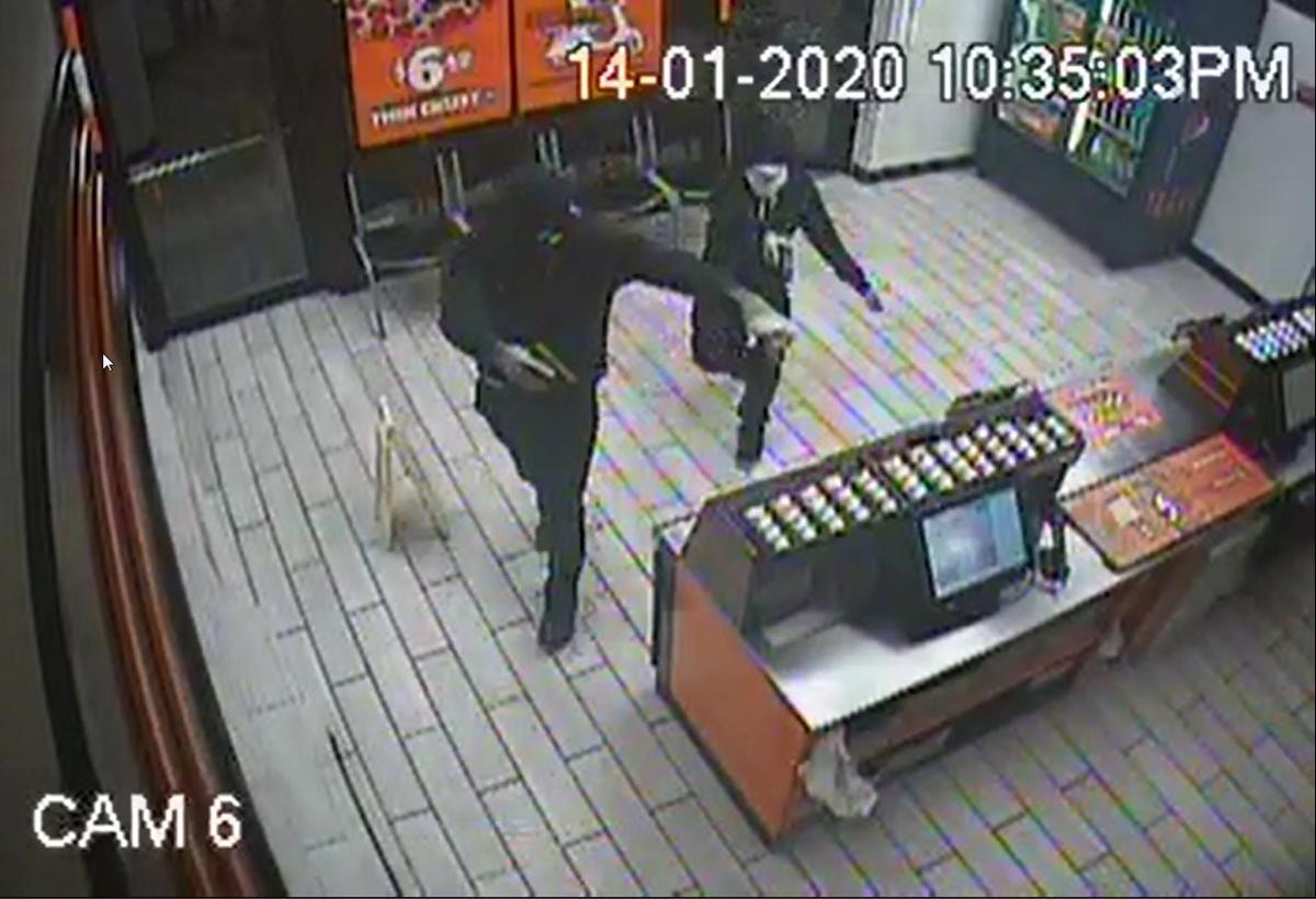 Little Caesars Armed Robbery