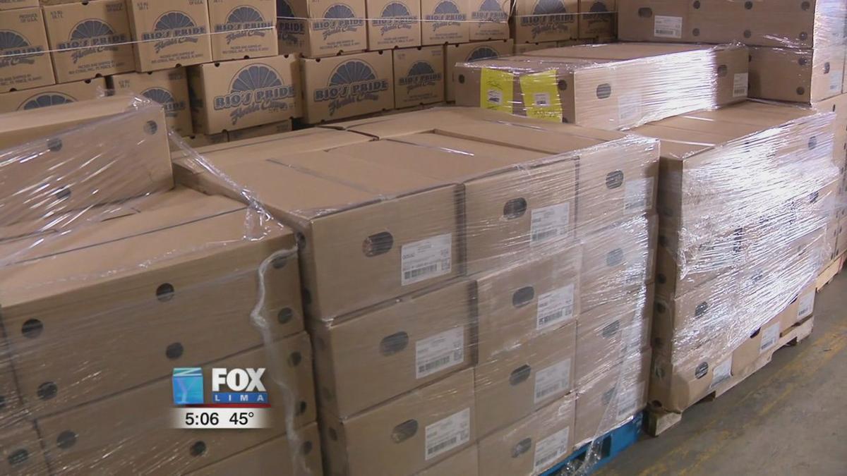 Ohio Pork Council donates 2,400 hams to West Ohio Food Bank