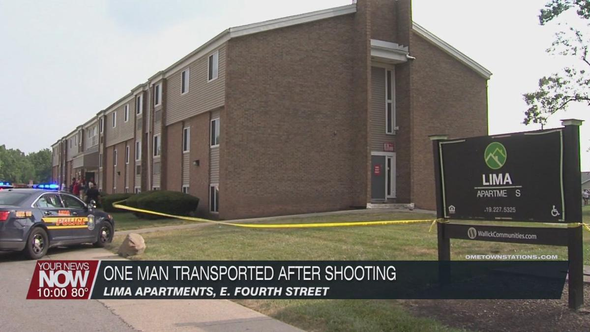One man transported to hospital following shooting on Fourth Street