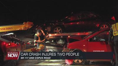 Two people hospitalized after crash at SR 117 and Copus Road intersection