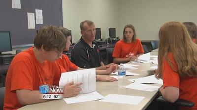 Fort Jennings TSA Team prepares for national competition