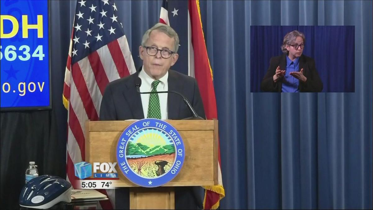 DeWine makes announcements about visitations and junior fair programs