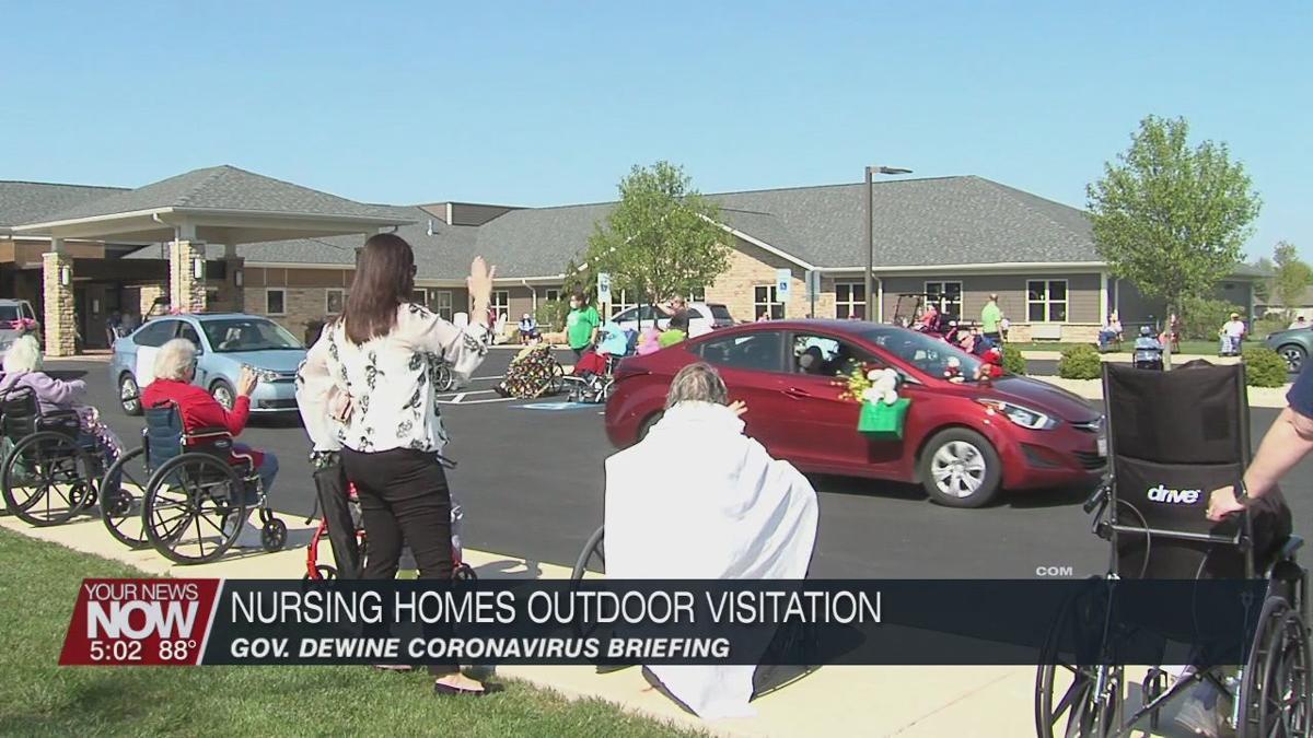 Gov. DeWine announces date for outdoor visitation to nursing homes
