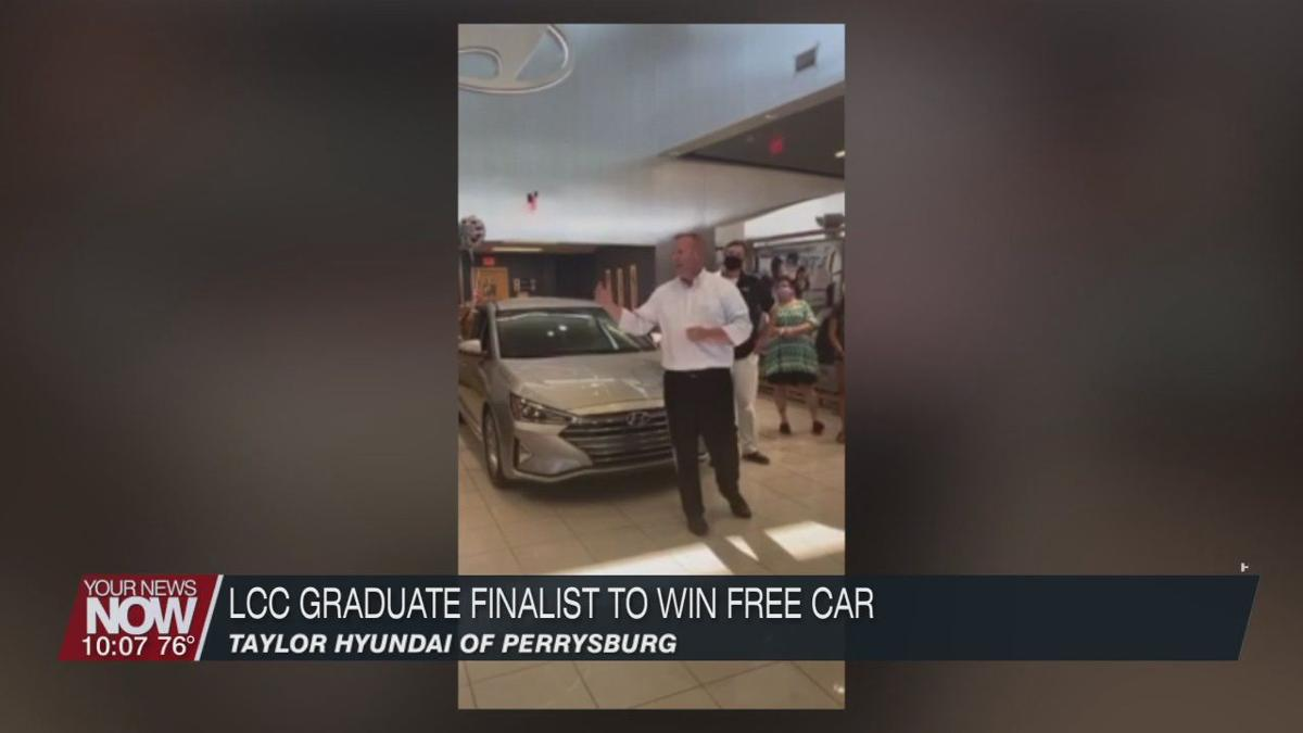 LCC 2020 graduate and teacher given chance to win a free car
