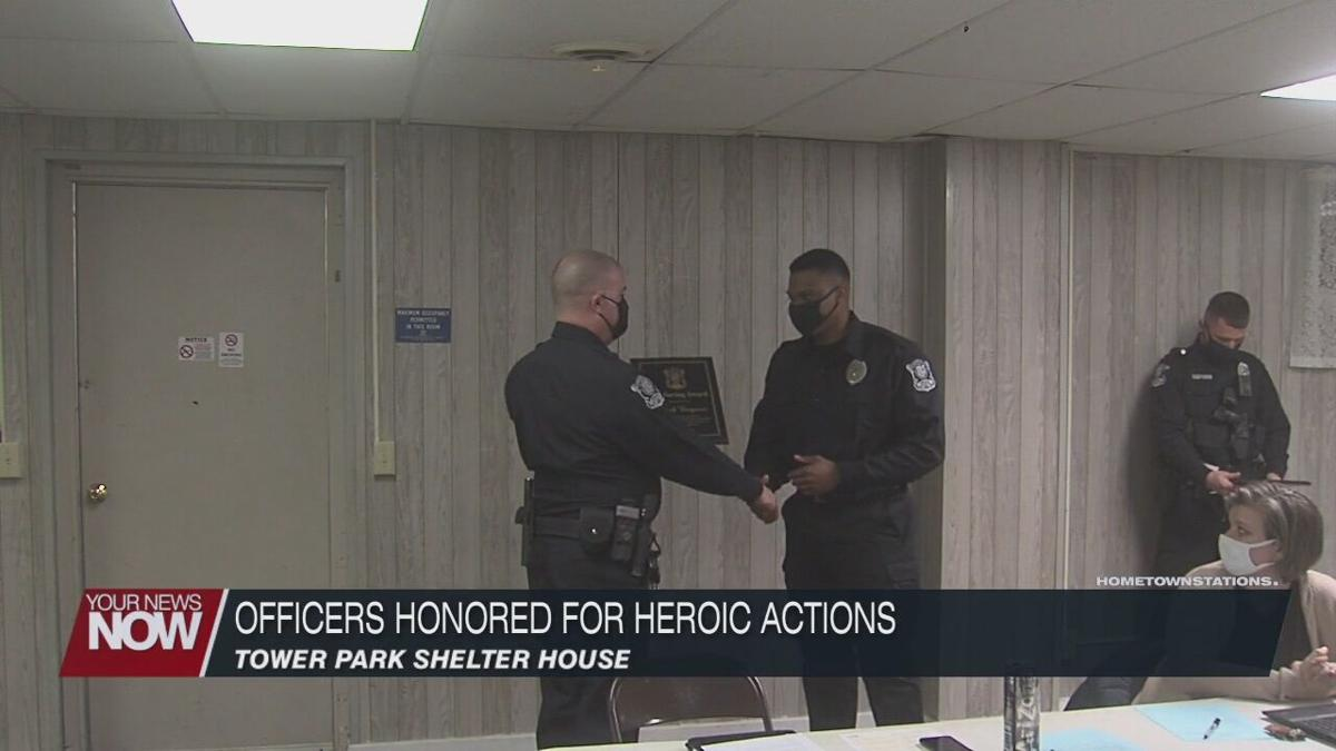 Two Cridersville Police Officers honored with awards for efforts
