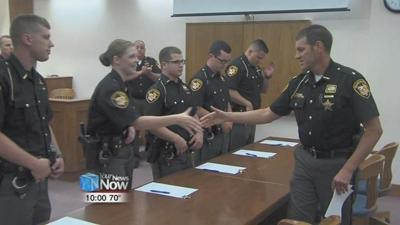 Five new deputies will be hitting the roads in Allen County