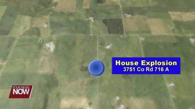 House explosion under investigation outside of Montezuma