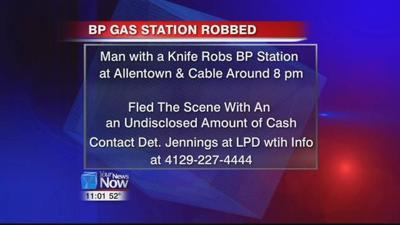 BP Gas Station Robbery