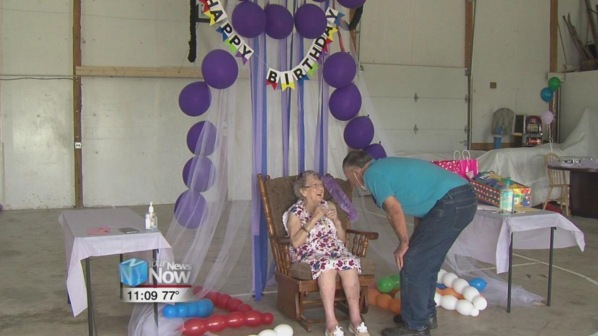 New centenarian says eat good, play good and have fun are keys to a good life