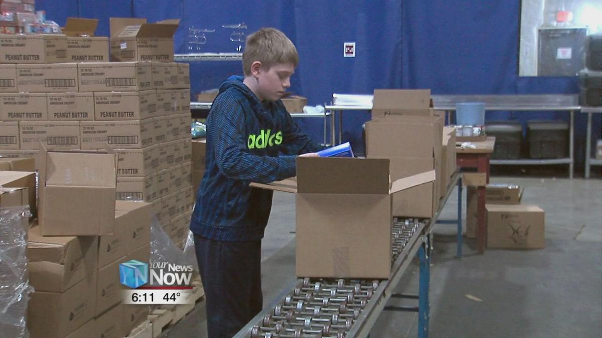 St. Charles student donates chore money to West Ohio Food Bank