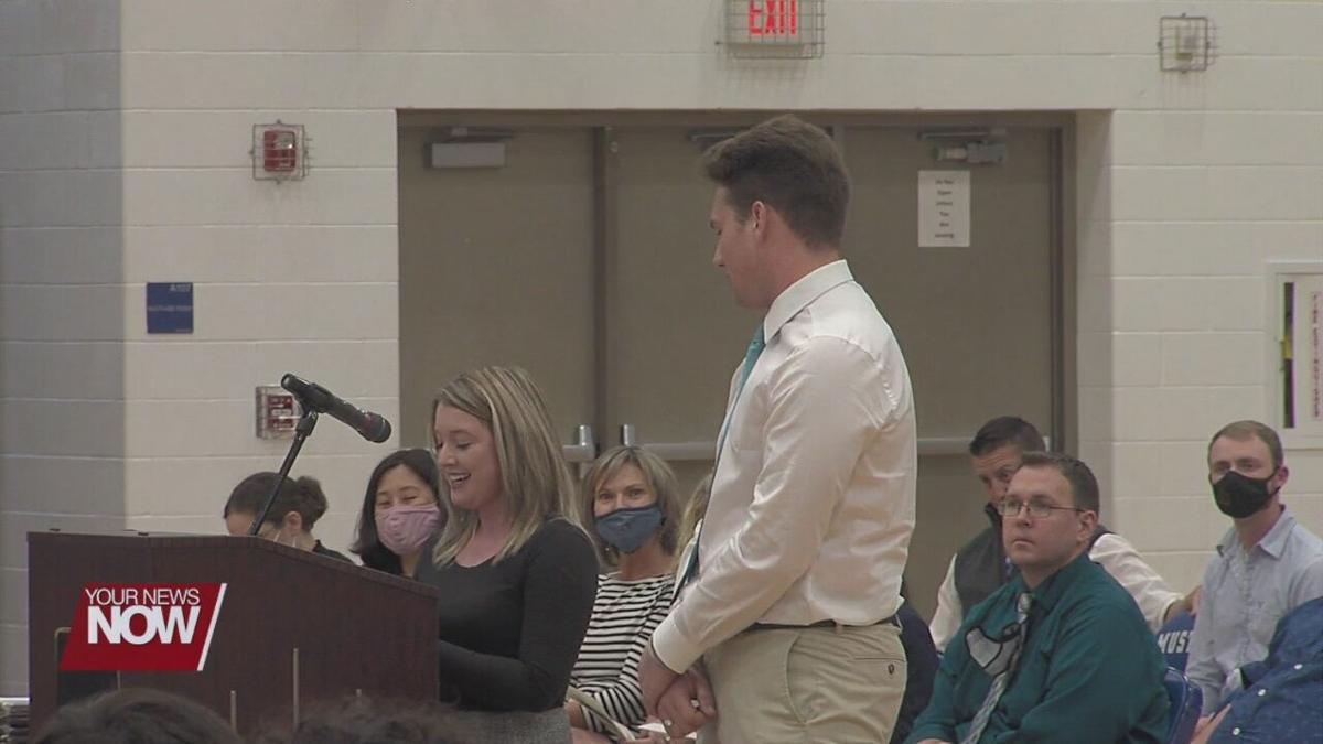 Ohio Means Jobs Allen County presents scholarship to local high school senior