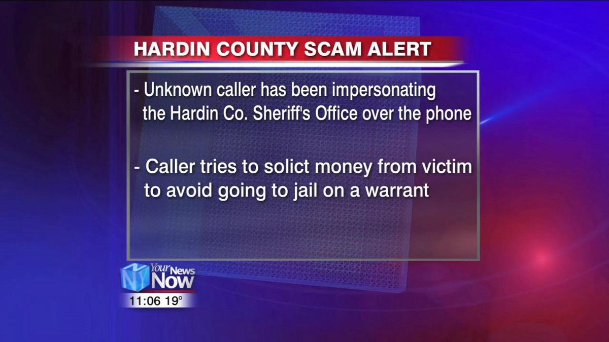 Hardin County Sheriff's Office warns of phone scam1.jpg