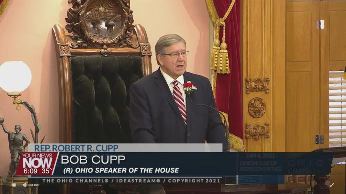 Cupp sworn in as Speaker of the Ohio House of Representatives