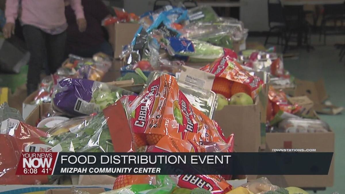 Mizpah Community Center offers food to community members in need