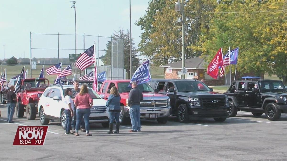 Hundreds gather for Trump Parade in Ottoville