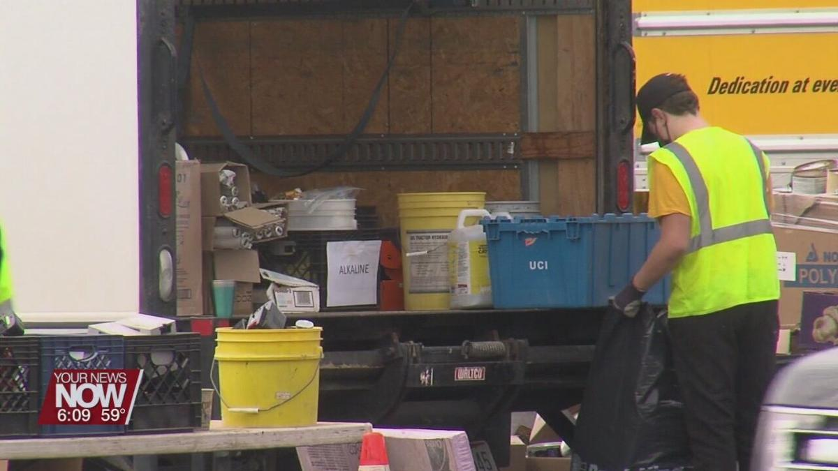 Recycling Event collects unused items/materials in Putnam County