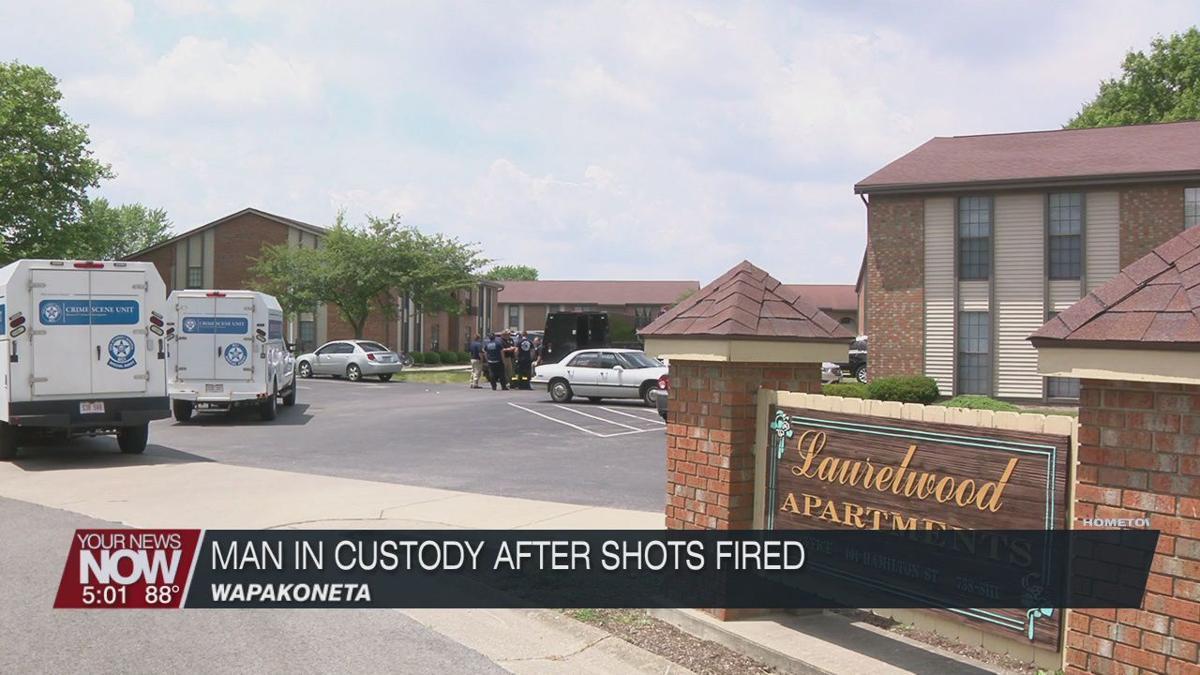 Wapakoneta man in custody after shots fired