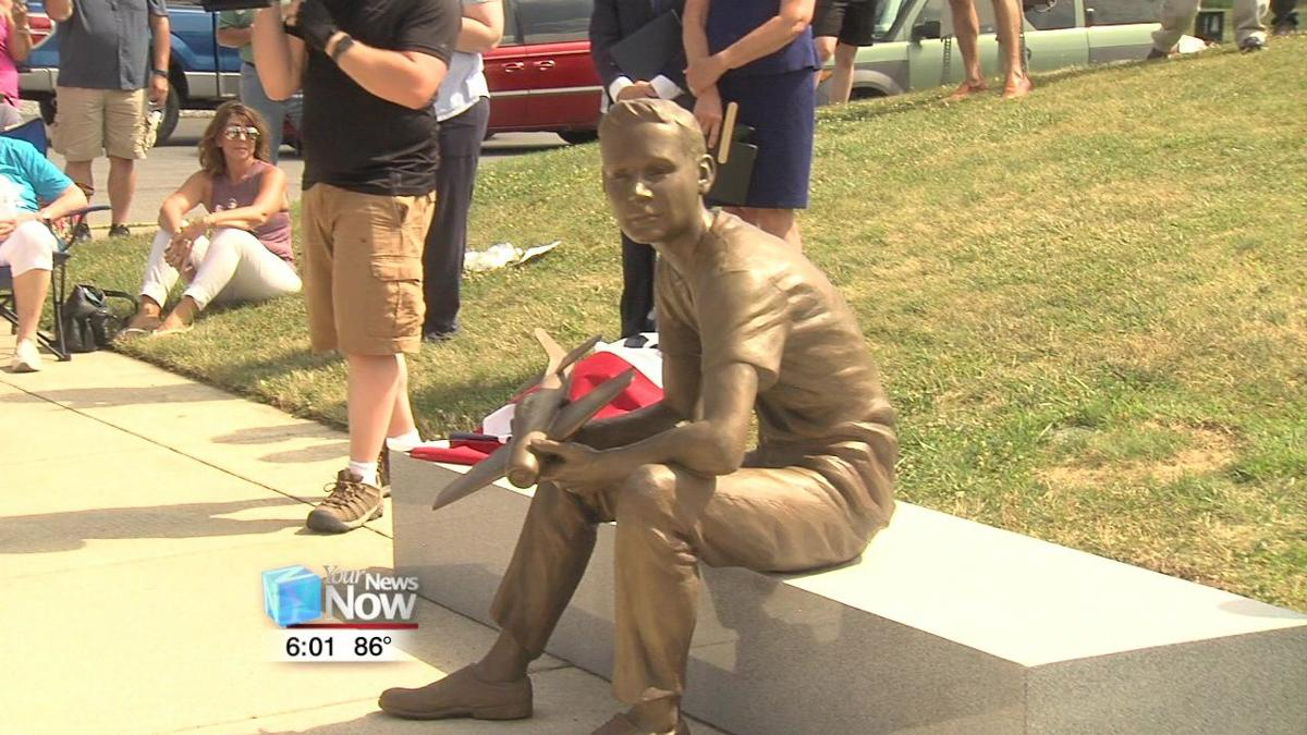 Armstrong Air and Space Museum unveil new Neil Armstrong statues2.jpg