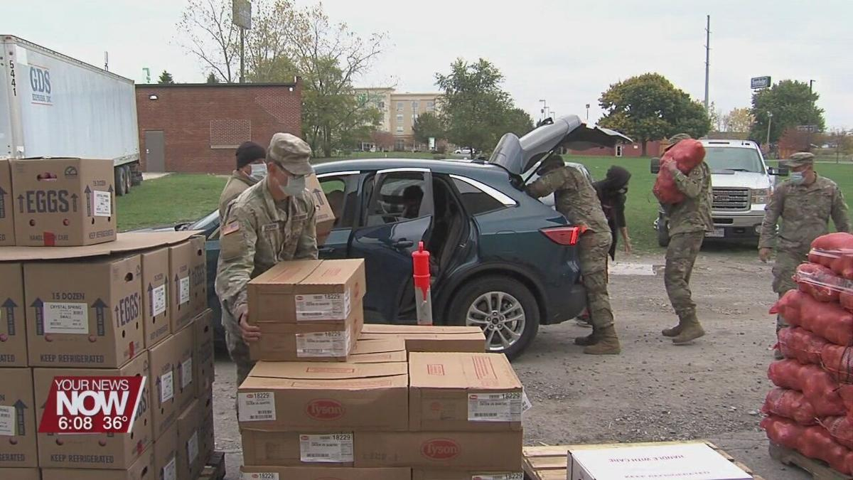 West Ohio Food Bank to hold food distribution event before Thanksgiving