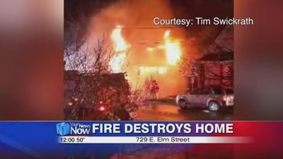 Friday morning fire destroys Lima home.jpg