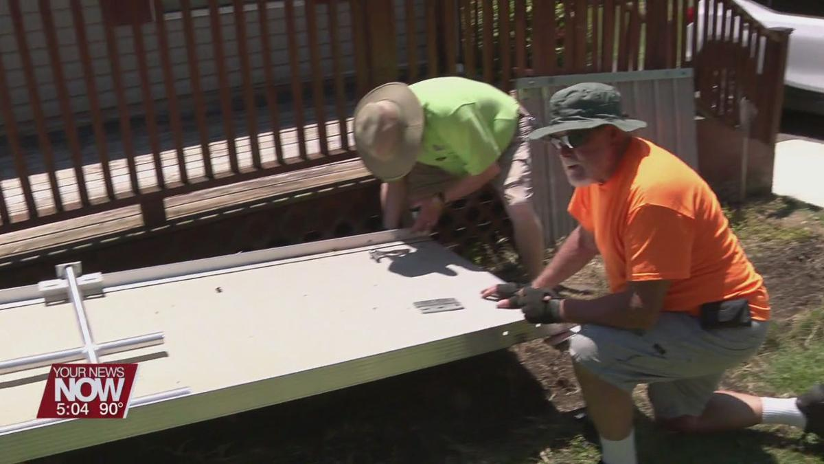 Disabled American Veterans group installs ramp for veteran in need
