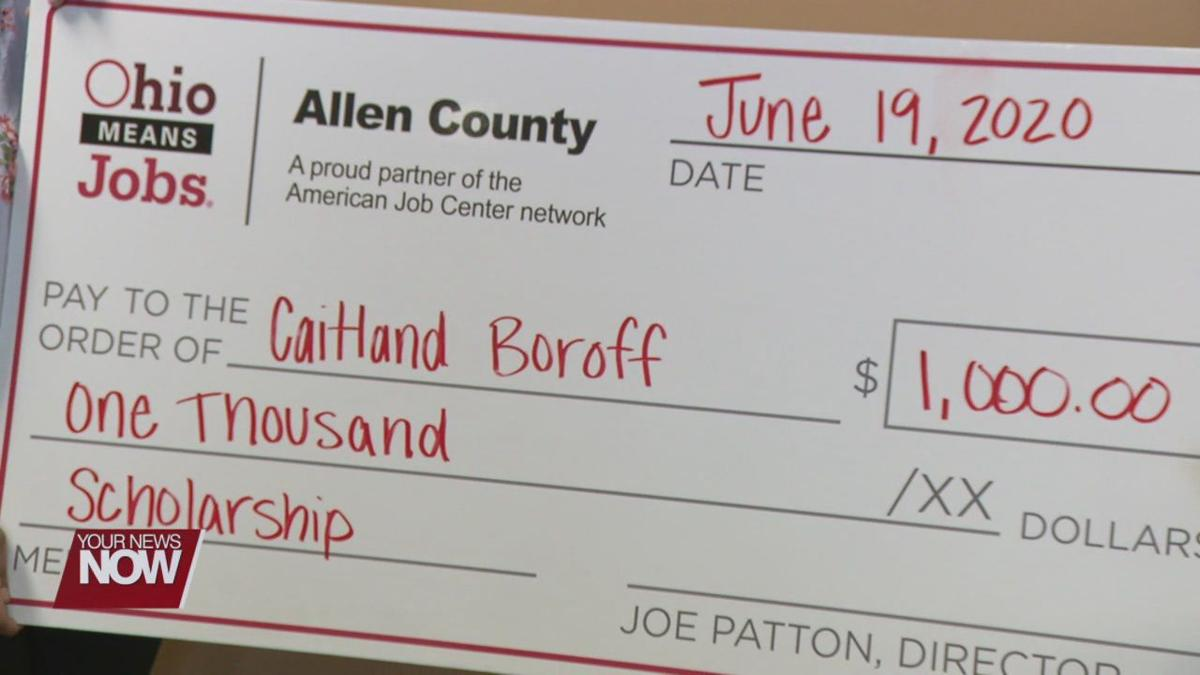 Ohio Means Jobs awards scholarship to one lucky Perry High School graduate