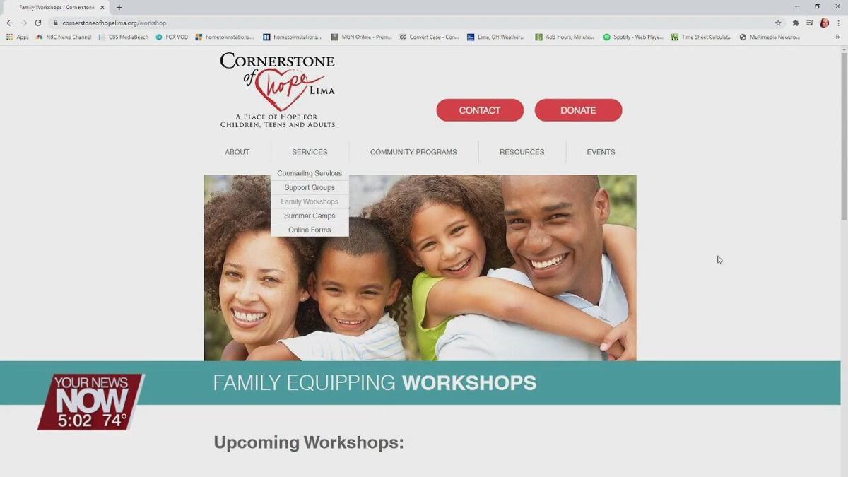 Cornerstone of Hope offering workshops