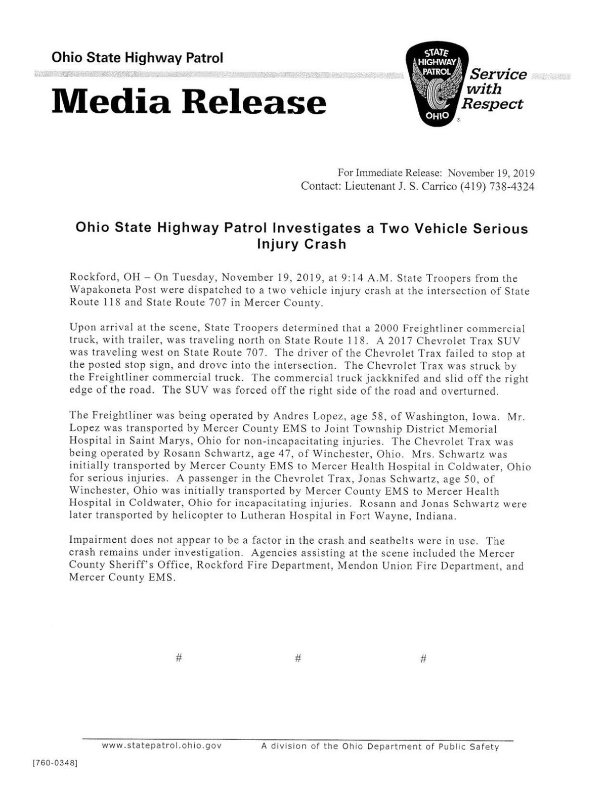 Serious two-vehicle crash in Mercer County PDF