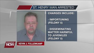 St. Henry man arrested for importuning and disseminating matter harmful to juveniles