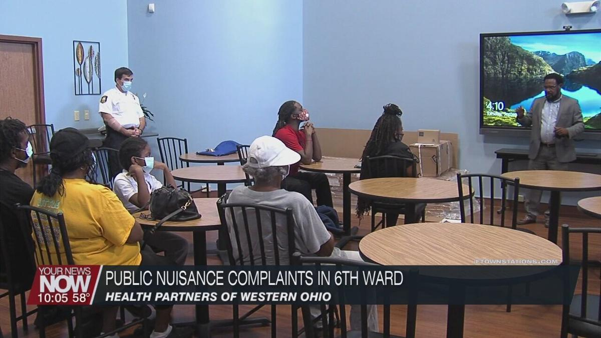Public nuisance complaints in Lima 6th Ward